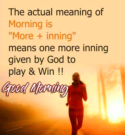 Morning Thought with Good Morning Wish