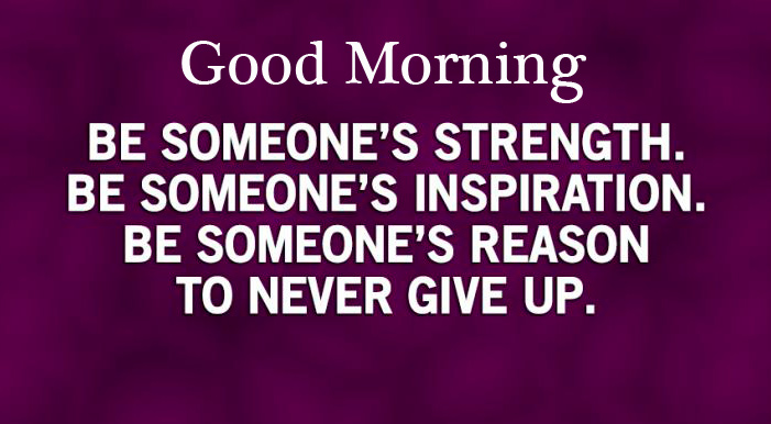 Motivational Quotes HD Pic with Good Morning