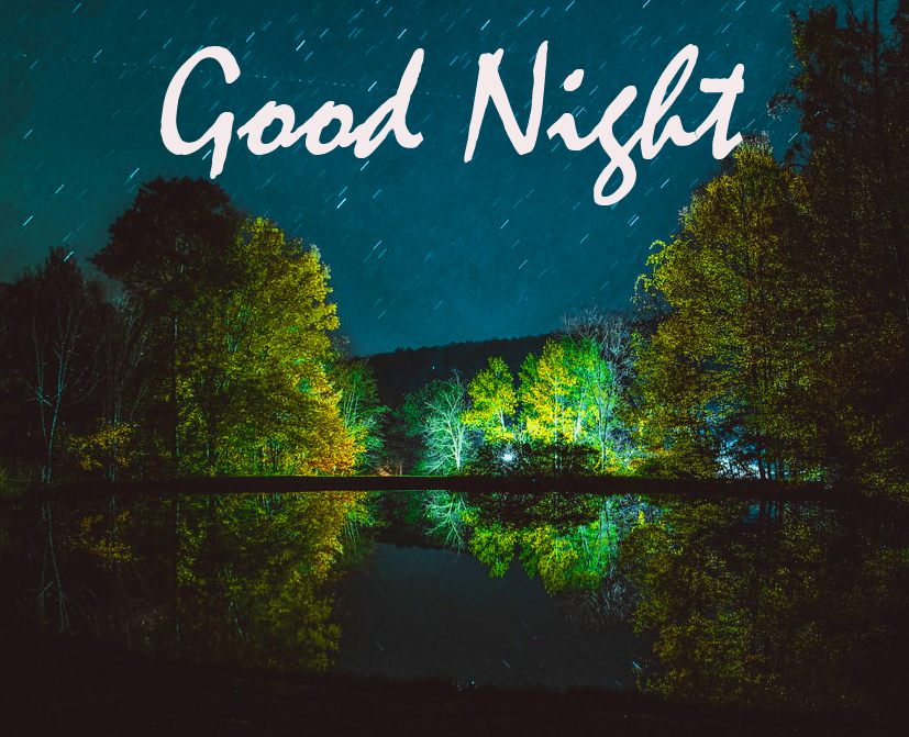 Nature Scenery Good Night Wallpaper and Image