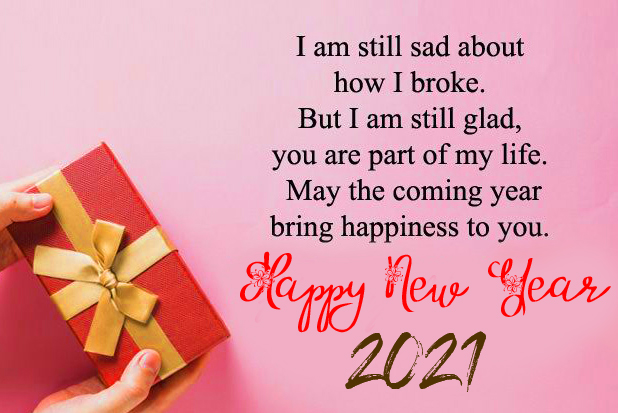 New Year Wish with Happy New Year
