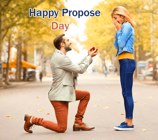 Perfect Couple Happy Propose Day Image