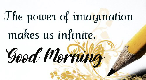 Powerful Thought with Good Morning Wish