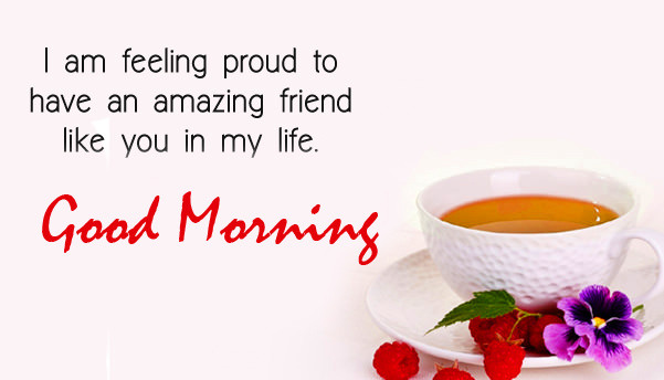Proud Thought Good Morning Image