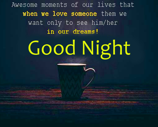 Quotes Pic with Good Night Wish