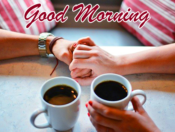 Romantic Coffee Cup Good Morning Picture