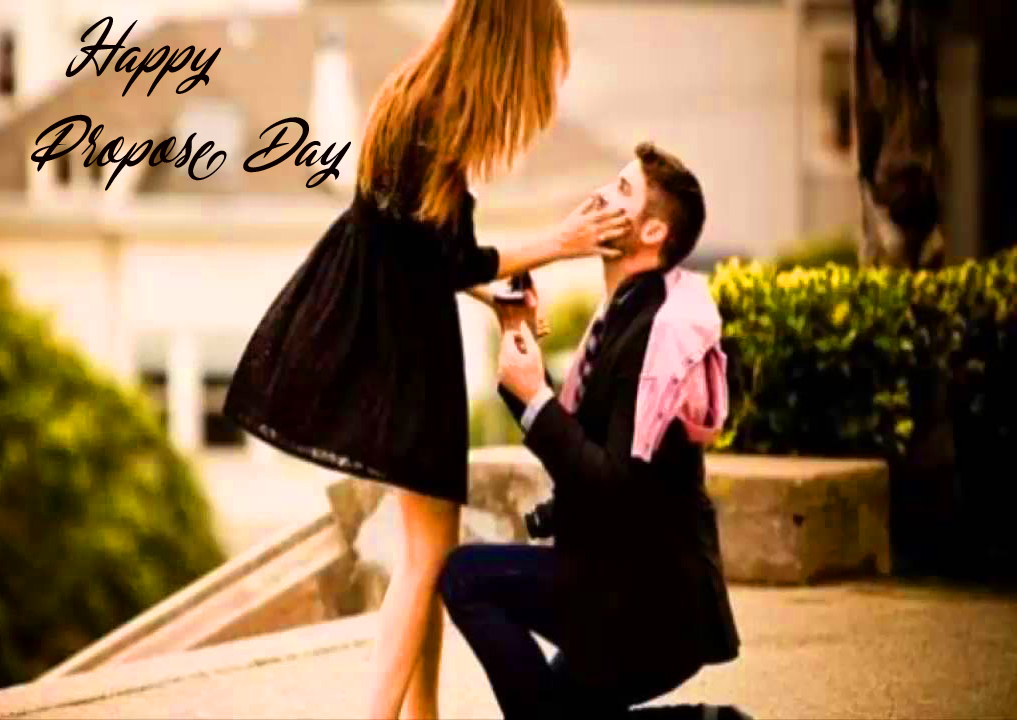 Romantic Full HD Couple Happy Propose Day Image
