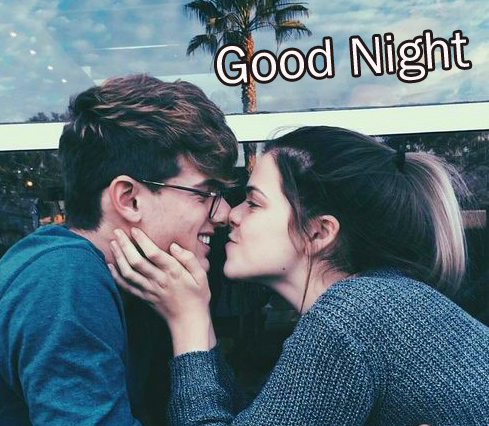Sweet and Cute Couple Good Night Picture