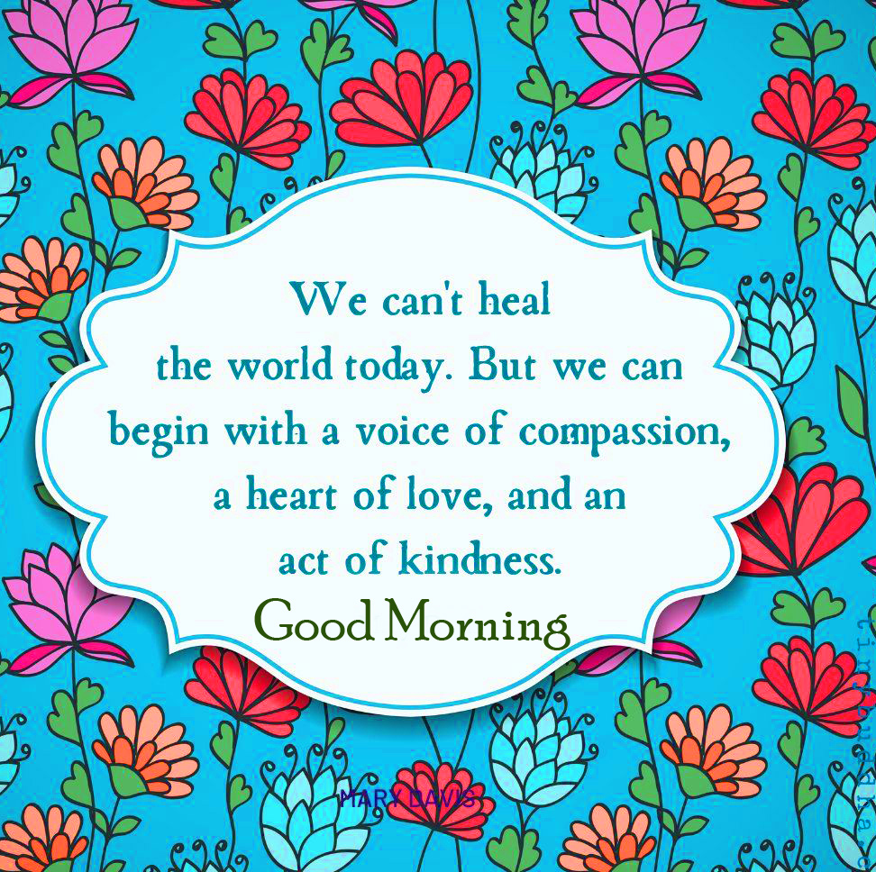 Today Quotes Good Morning Pic HD
