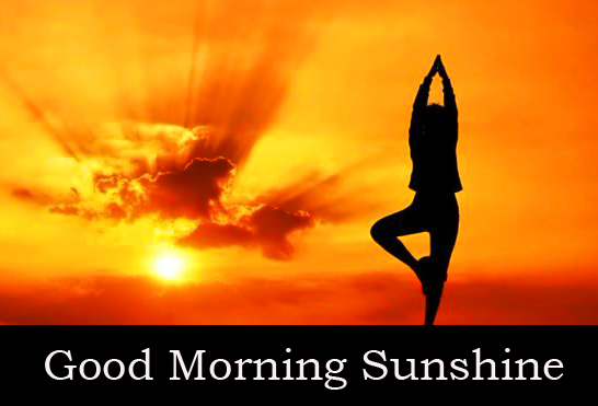 Yoga with Good Morning Sunshine Picture