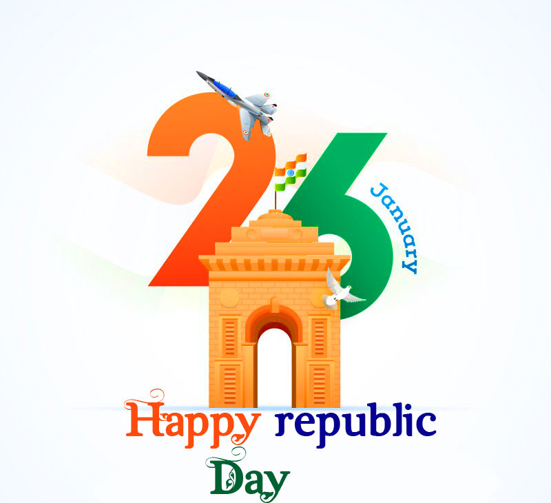 th January Happy Republic Day Picture HD