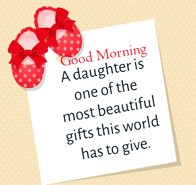 Baby Girl Quotes Good Morning Image