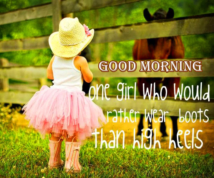 Baby Girl Quotes with Good Morning Message