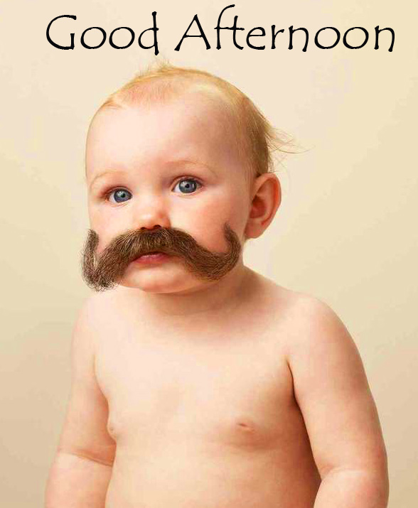 Baby Good Afternoon Sunday Wallpaper