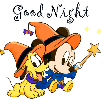 Baby Mickey Mouse Good Night Image