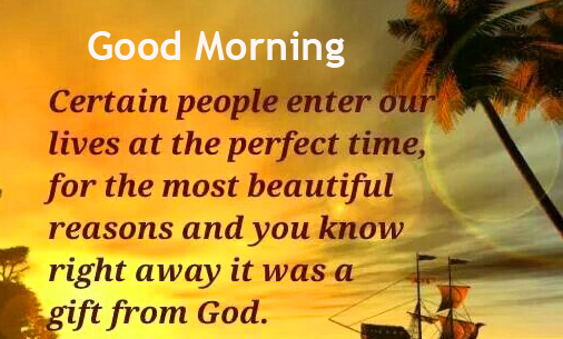Beautiful Love for God Quotes with Good Morning Wish
