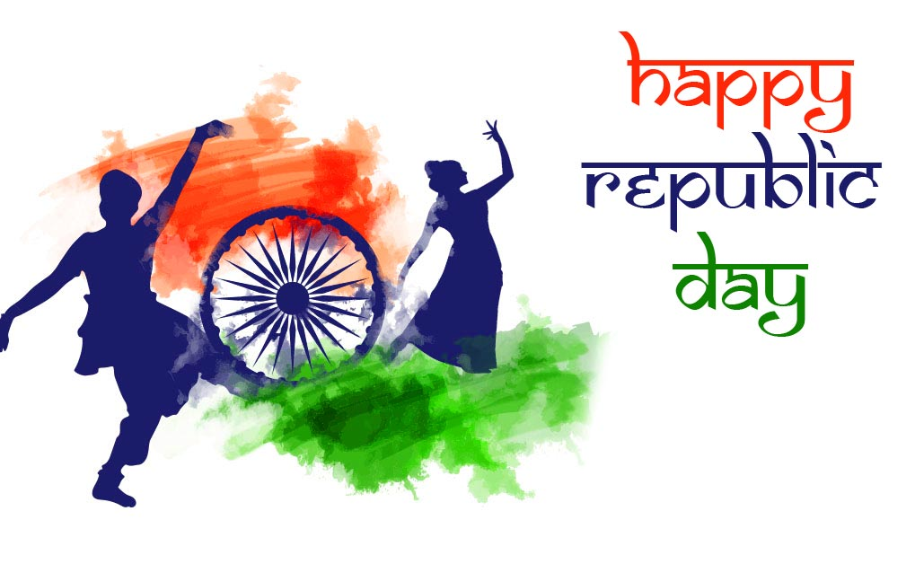 Beautiful and Traditional Happy Republic Day Pic