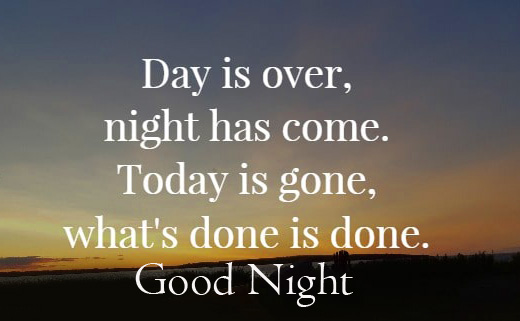 Best Good Night English Quotes Picture