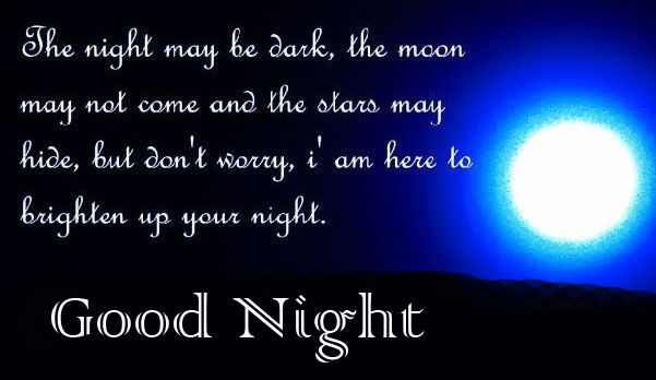 Best Good Night Greeting Full Moon Picture