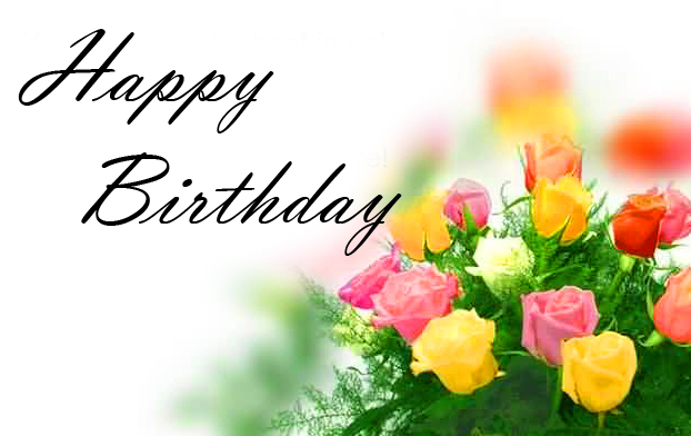 Best and Latest Flowers Happy Birthday Image