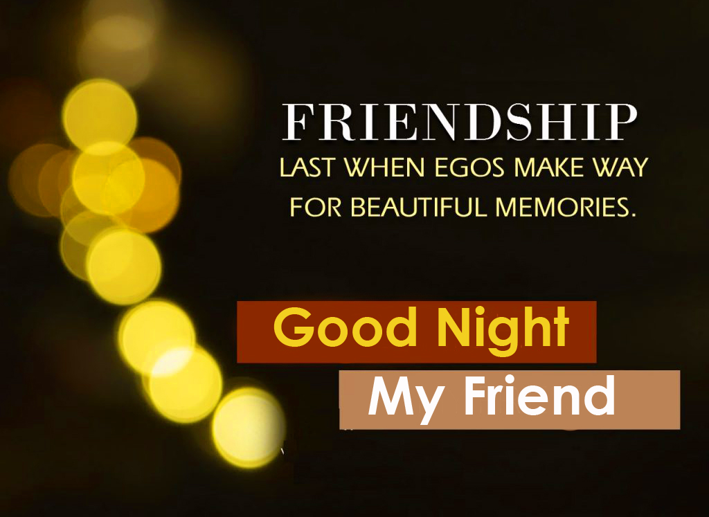 Best and Latest Good Night Message Image