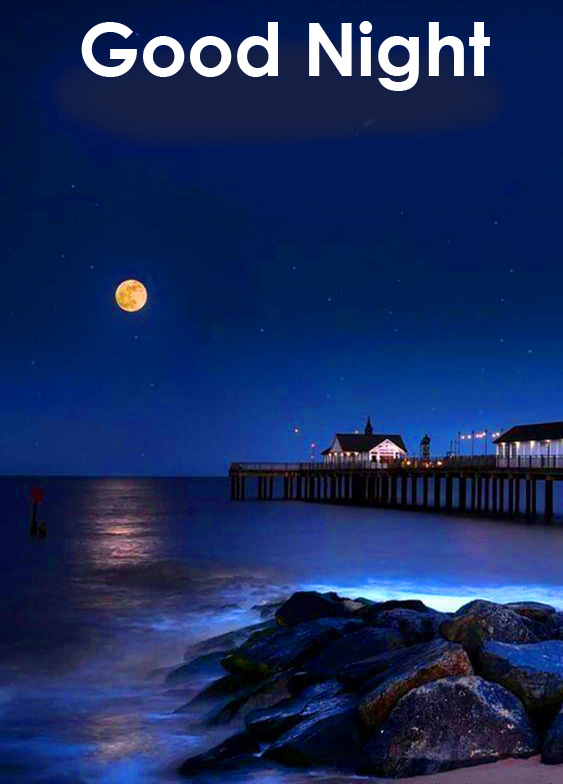 Best and Latest Good Night Wallpaper