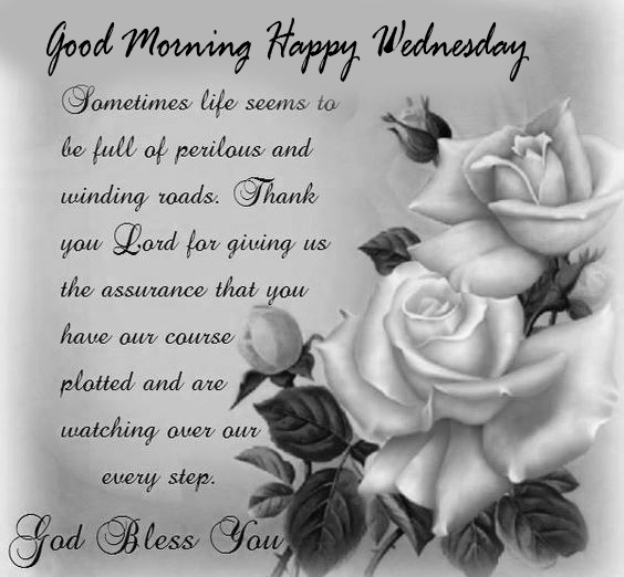 Blessed Message with Good Morning Happy Wednesday Wish