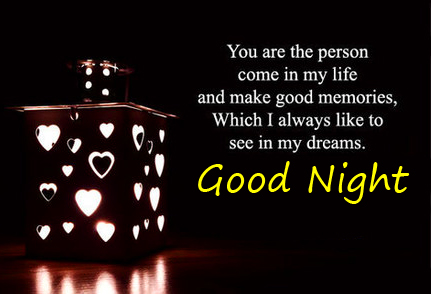 Blessing Message with Good Night Wish