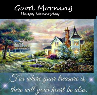 Blessing Quotes with Good Morning Happy Wednesday Picture