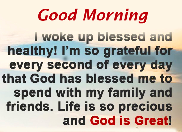 Blessings Good Morning Pic HD