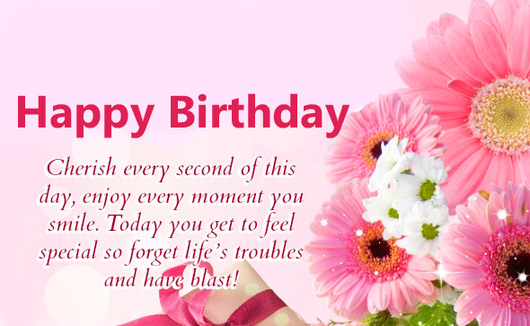 Cheerful Happy Birthday Message for Friend
