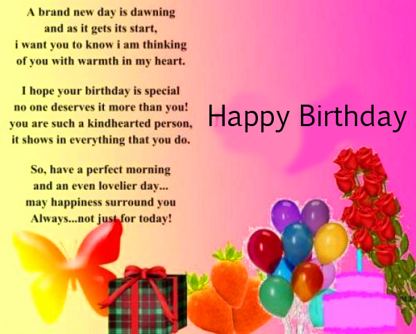 Colourful Message with Happy Birthday Wish