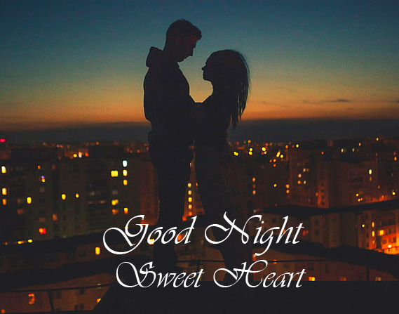 Couple Romantic Good Night Sweet Heart Picture