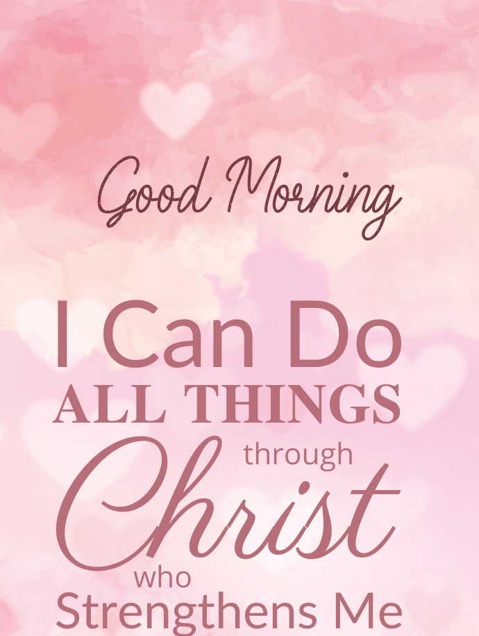 Cute Love for God Message with Good Morning Wish
