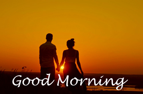 Cute Lover Good Morning Image