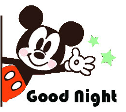 Cute Mickey Mouse Good Night Image