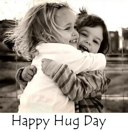 Cute Sisters Happy Hug Day Picture