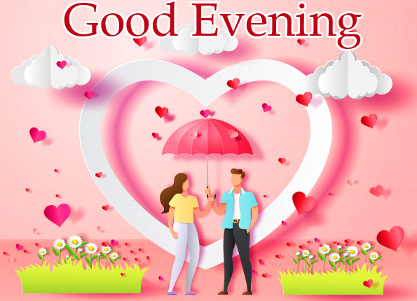 Cute and Lovely Couple Good Evening Picture