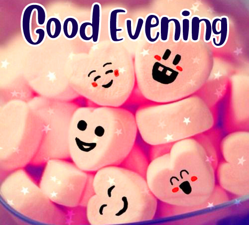 Cute and Lovely Good Evening Image