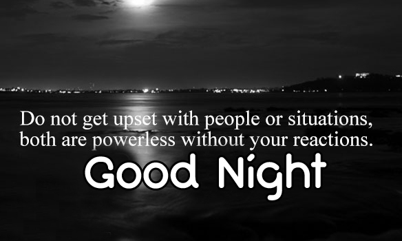 English Blessing Good Night Quotes Pic