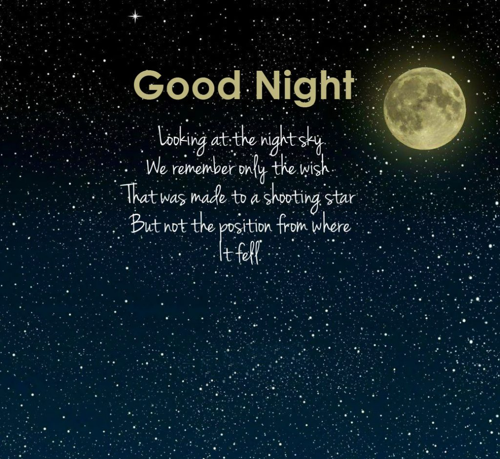 41+ Good Night Images in English