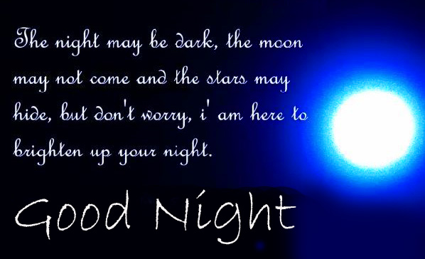 English Quotes Good Night Picture
