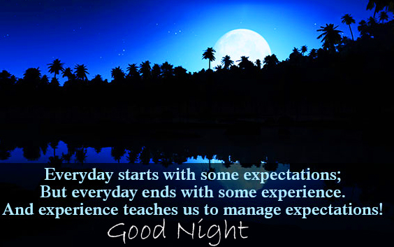 Everyday Blessing Quote Good Night Image