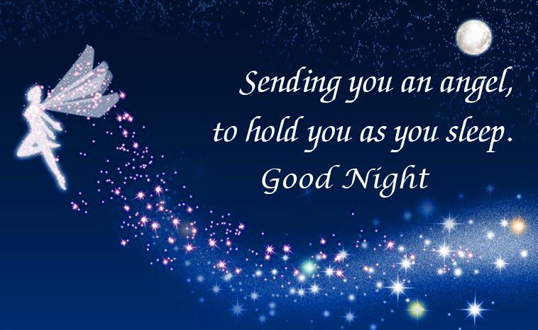 Fairy Good Night Message Picture