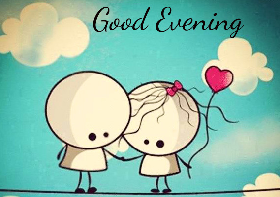 Fall in Love Good Evening Cute Image