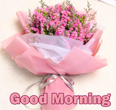 Flowers Bouquet Good Morning Image