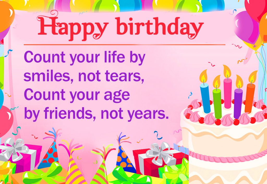 41+ Birthday Greetings for a Friend