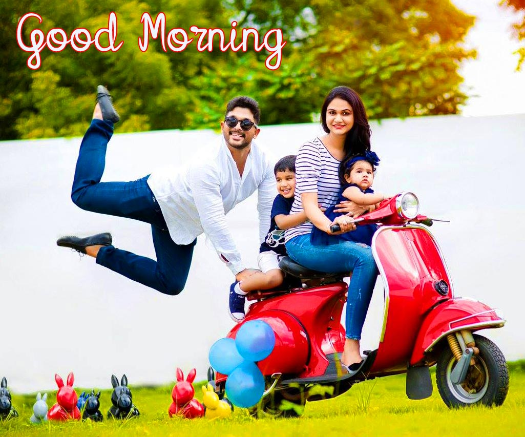 Funny Family Good Morning Image