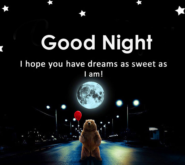 Funny Good Night Greeting Picture