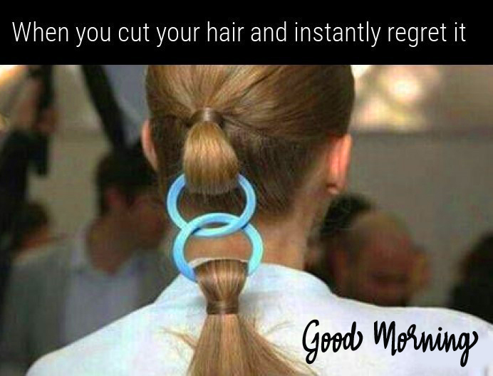 Funny Meme with Good Morning Message