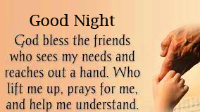 God Bless Blessing Quotes Good Night Picture HD